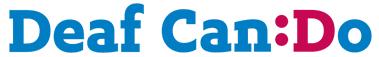 Deaf Can Do logo